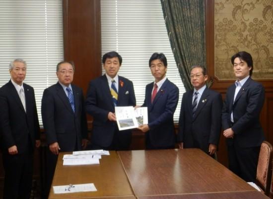 【活動報告】館山市長、南房総市長と懇談