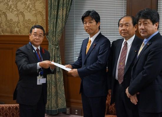 【活動報告】栃木県副知事と懇談