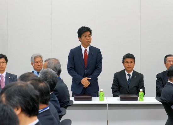 【活動報告】圏央道建設促進に向けた集まりにてご挨拶
