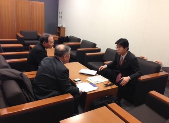 【活動報告】取り調べの可視化に関して弁護士会と懇談