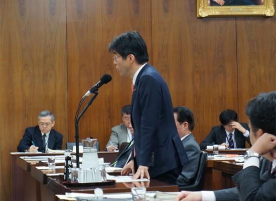 【活動報告】法務委員会で質問をしました