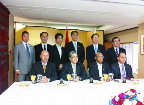 【活動報告】チュニジア大統領と会談