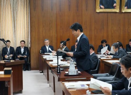 【活動報告】死刑再審無罪者年金支給特例法案の趣旨説明を行いました